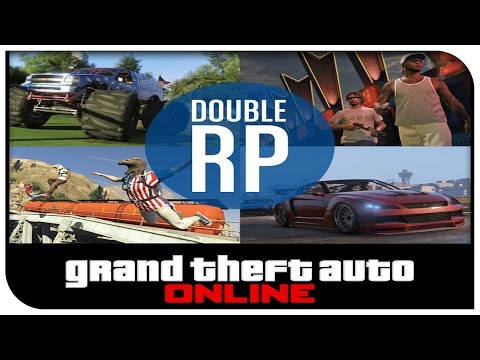 long - GTA 5 ONLINE DOUBLE RP WEEKEND. Today in GTA 5 Online, I talk about how there will be Double RP all weekend long as well as it will be the last weekend to buy Independence Day DLC Items. Hope...