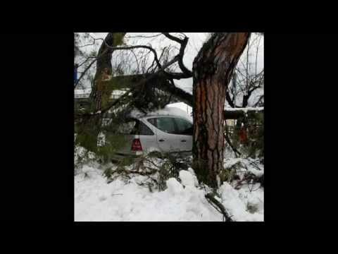 Maltempo: Penne sotto la neve
