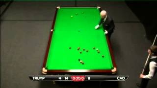 Judd Trump - Cao Xin Long (Frame 1) Snooker International Championship Q 2013 - Round 1