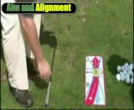 Golf Lessons 3 – Golfer's Footprint – Aim and Alignment