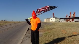 Weatherford (OK) United States  city pictures gallery : Day #129 (Weatherford, OK) Pastor Chick Walks Across America