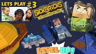 1. Lets Plays SICK BRICKS Part 3: Exploring Space Hood w/ Berserker Bot & Spaceship (FGTEEV Gameplay)