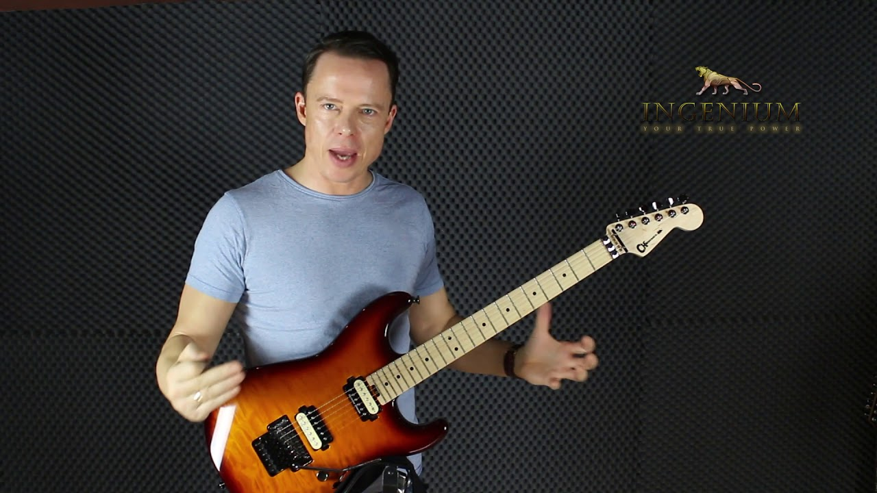 How I practice triads & 4 note arpeggios – Guitar mastery lesson