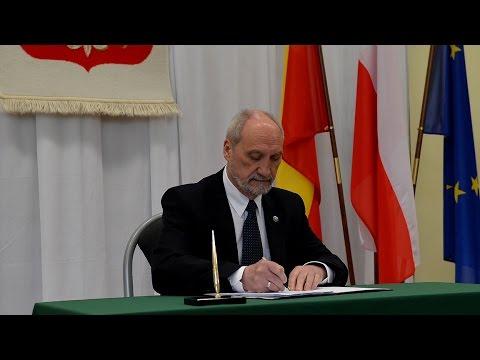 Koncepcja obrony terytorialnej podpisana - film
