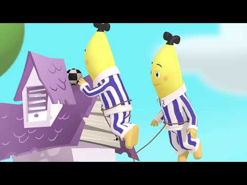 Cartoon Marathon | Bananas in Pyjamas Official