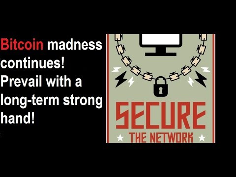 Bitcoin madness continues, but if you have a long-term strong hand you will easily prevail! video
