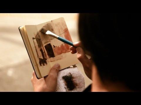 Painting beautiful animated films (видео)