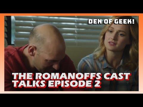 The Romanoffs Cast Talks Episode 2