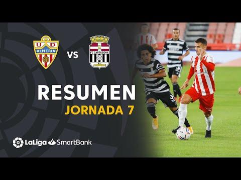 Resumen de UD Almería vs FC Cartagena (1-1)