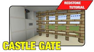 """Castle Gate [Portcullis Gate] """"Tutorial"""" (Minecraft Xbox/Ps3 TU16)"""