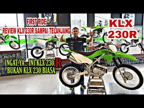 FIRST RIDE.KAWASAKI KLX230R.REVIEW KUPAS TUNTAS SAMPAI TESRIDE.