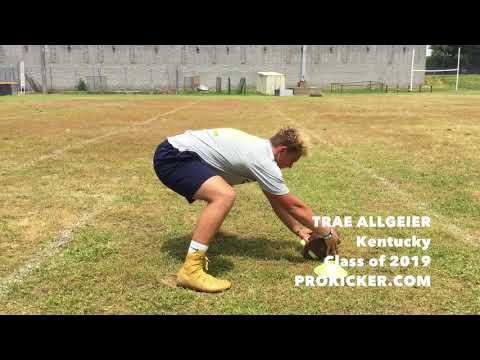 Trae Allgeier - Ray Guy Prokicker.com Long Snapper, Class of 2019