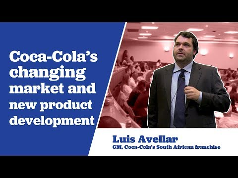 General Manager of Coca-Cola's South African Franchise, Luis Avellar