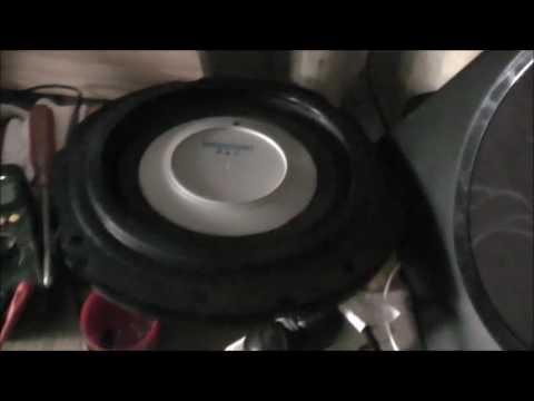 Panasonic Speakers Look Inside & Test
