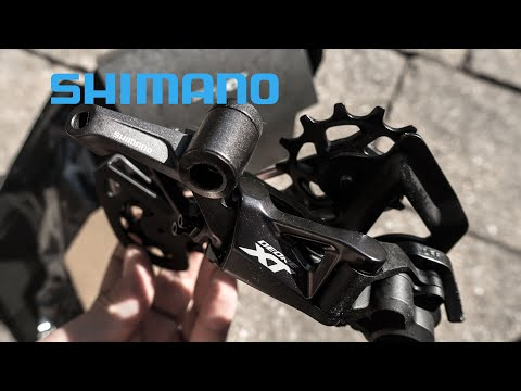 Shimano XT 12 Speed  M8100 Derailleur Details, XTR Hack, Comparison with XTR