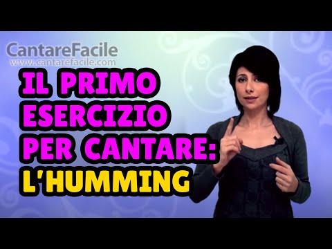 humming: l'esercizio giusto per il tuo primo approccio al canto!