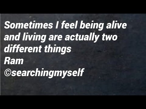 Quotes about life with inner meaning  @ searching myself