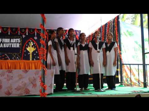 Telugu song by girls of HEAL Paradise Village