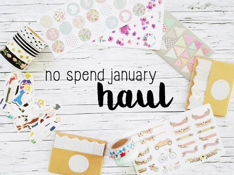No spend January Haul