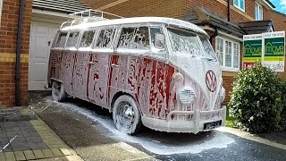 VW Split Screen Camper Clean