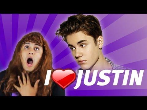 Locas fans de Justin Bieber (JEVISI)