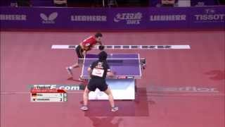Table Tennis Highlights, Video - 2013 WTTC MS-R16: Timo Boll - Seiya Kishikawa (full match|short form)