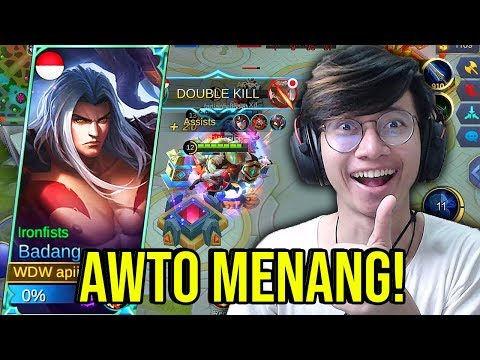 NEW HERO BADANG AUTO MENANG TERLALU OP ! - MOBILE LEGENDS INDONESIA