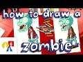 How To Draw A Zombie (Plants vs Zombies) - YouTube