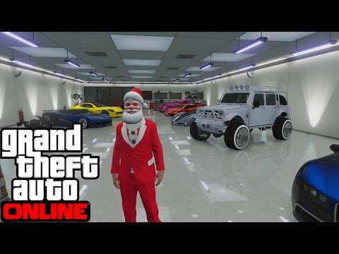 GTA 5 Online Cars 10 Garage Showcase - RedRobin's Garage