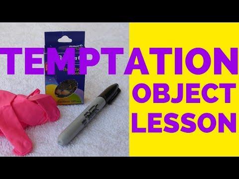 Temptation Object Lesson