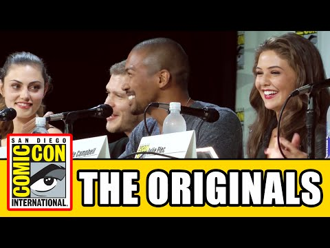 comic con - The Originals Season 2 Comic Con Panel with The Originals cast Phoebe Tonkin, Leah Pipes, Danielle Campbell, Joseph Morgan, Daniel Gillies and Charles Michae...