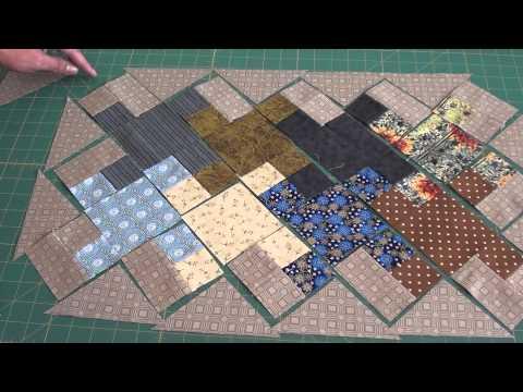 Jogo Americano Part 2- Bloco Tessellating Crosses