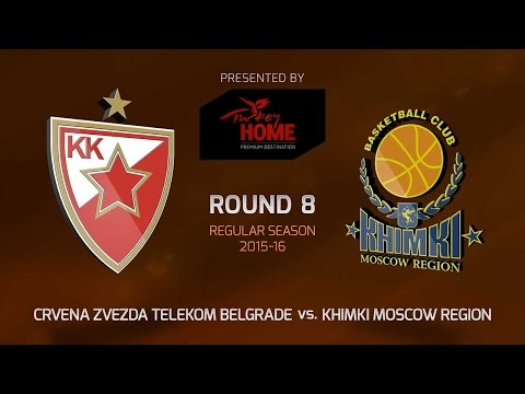 Highlights: RS Round 8, Crvena Zvezda vs. Khimki Moscow Region