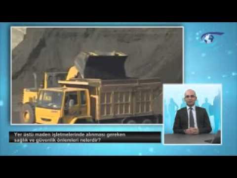 Yerüstü maden işletmelerinde alınması gereken sağlık ve güvenlik önlemleri nelerdir