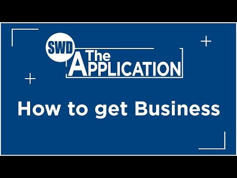 The Application: How to get Business - Interview w/Alison Scott Bull (Part 4)