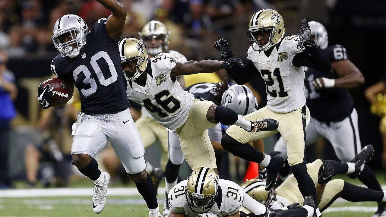 Jalen Richard's journey from undrafted rookie to NFL record books