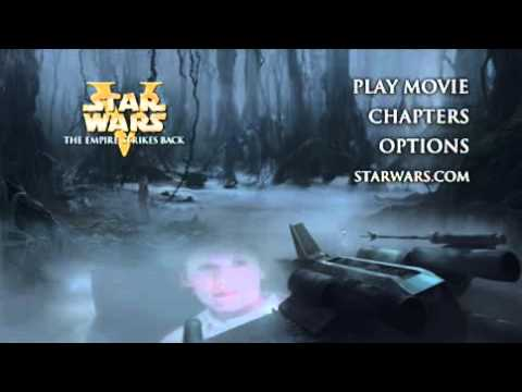 Star Wars Episode V The Empire Strikes Back DVD Menu 1