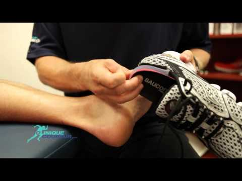 comment soulager une bursite au pied