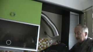 Как установить вытяжку. Установка кухонной вытяжки
