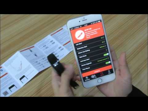 ID107 Heart Rate Smart Bracelet, HR Smart band Review video