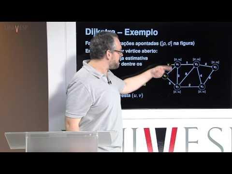 Estrutura de Dados - Aula 28 - Grafos - Algoritmo de Dijkstra