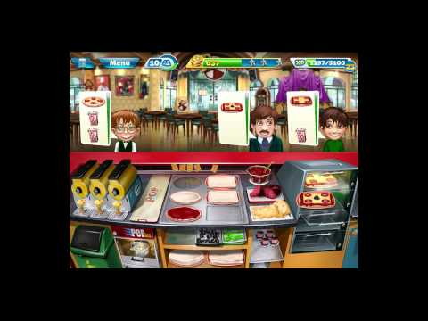 Cooking Fever [iPad Gameplay] Pizzeria Level 26