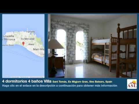 4 dormitorios 4 baños Villa se Vende en Sant Tomás, Es Migjorn Gran, Illes Balears, Spain