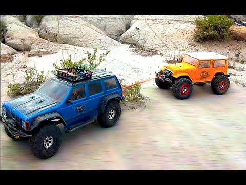RC ADVENTURES - TTC 2012 - Eps 6 - 3000FT RALLY RACE - Scale 4x4 Truck Challenge - Rude Boyz RC