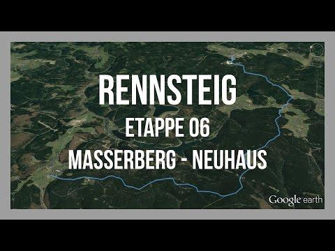 Rennsteig | Etappe 6 | Masserberg - Neuhaus | Wandern Thüringer Wald | GPS-Track