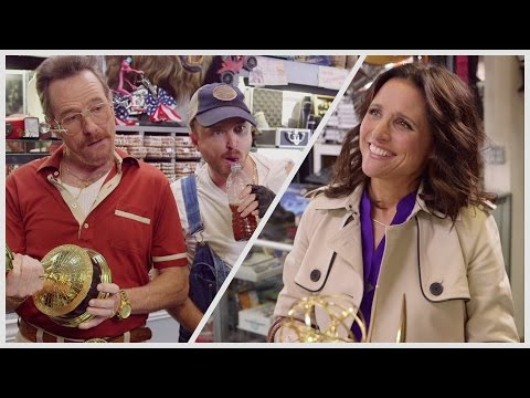 Emmys 2014 - Promo Skit (with Bryan Cranston, Aaron Paul & Julia Louis-Dreyfus) [VIDEO]