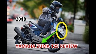 6. 2018 Yamaha Zuma 125 Review