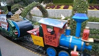 Disneyland Train Ride Casey Jr Circus Train (HD)