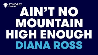 Diana Ross karaoke Ain't No Mountain High Enough