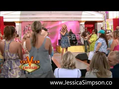 Jessica Simpson - Come On Over - Live Las Vegas - The View - ABC - 2008